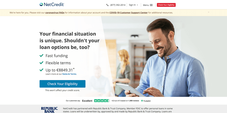 Netcredit bad credit review